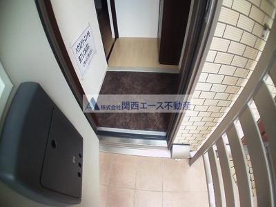 【玄関】クレールコート