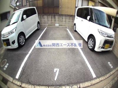 【駐車場】クレールコート