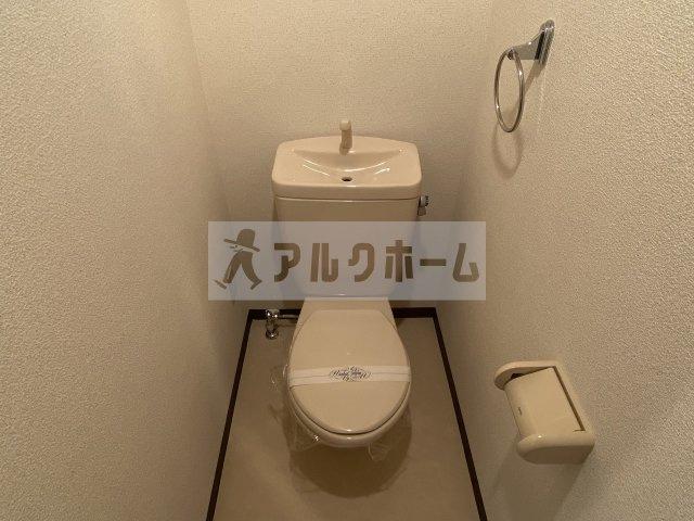 ベルドミール末広5番館(八尾市末広町) おトイレ