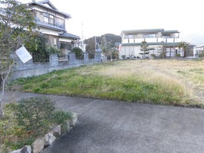 敷地、南東側から