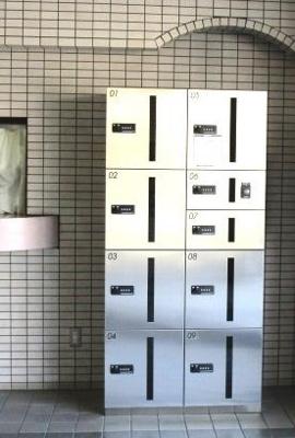 便利な宅配ボックス