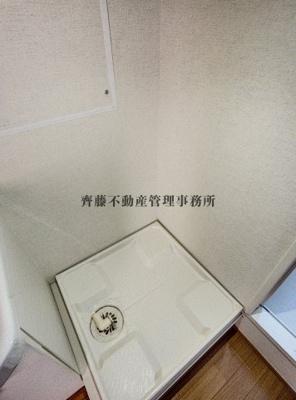 洗濯機が設置可能です♪