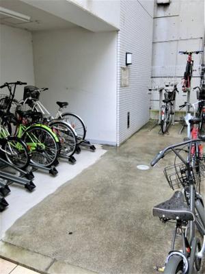 駐輪場が管理が行き届いているため、乱雑な駐輪などがなく快適です☆