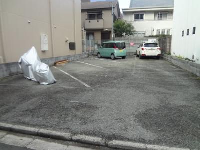 【外観】池田市栄本町月極駐車場