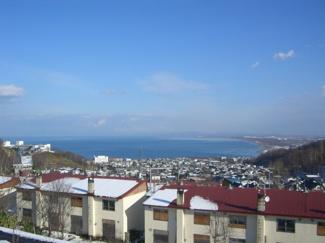 冬景色。四季折々のリゾートライフが楽しめます。