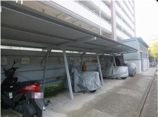 世田谷区南烏山 リノベーションマンション 烏山南住宅1号棟  バイク置き場