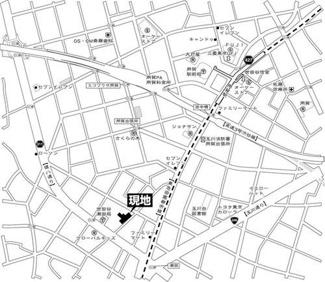 世田谷区玉川台 リノベーションマンション ビスタリア玉川台 地図