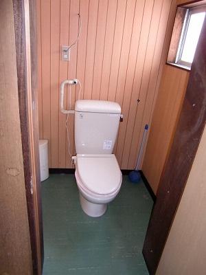 【トイレ】箕輪町中箕輪 貸事務所
