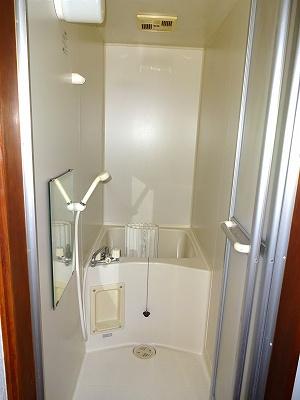 【浴室】川岸上2丁目 貸家(6)