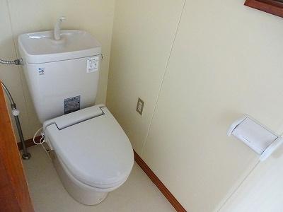 【トイレ】川岸上2丁目 貸家(6)