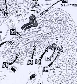 【地図】塩嶺高原別荘52