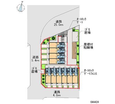 【区画図】FIORI高松