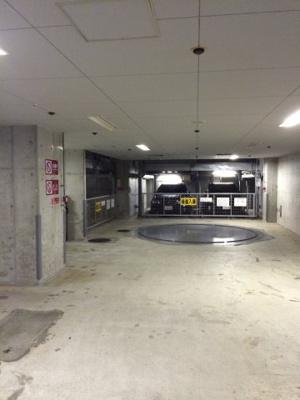 アクシア広尾の駐輪場です。