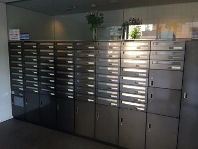 アクシア広尾のメールボックスです。