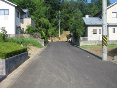 【前面道路含む現地写真】ライフステージ勝部 9号地