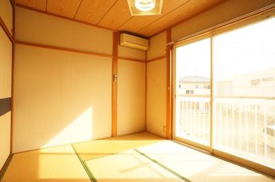 エアコン付きの2階和室♪