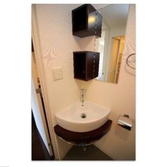 【AFFLUENCE難波】使いやすい洗面所です