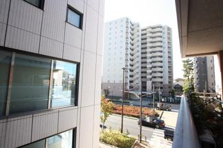 渋谷区代々木 リノベーションマンション 「サンクタス代々木ヒルズ 102」 バルコニーからの展望