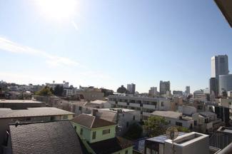 渋谷区代々木 リノベーションマンション 「メゾン代々木 602」 物件からの眺望