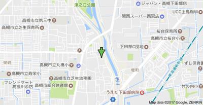 【地図】サンハイツ芝生㈱Roots