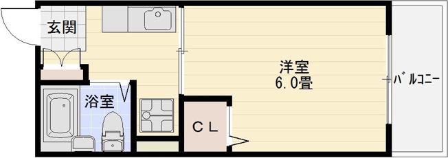セルティアB 道明寺 土師ノ里 藤井寺 1K