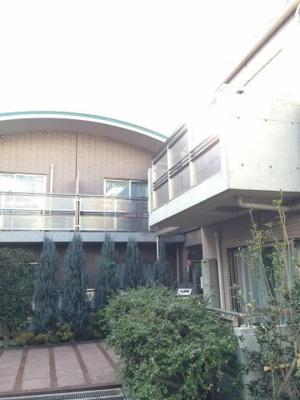 広尾レジデンスB棟の外観です。