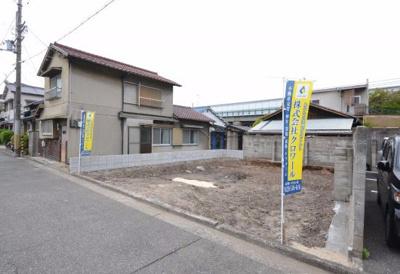 【前面道路含む現地写真】クロワールタウン北向陽町 堺市堺区北向陽町 新築