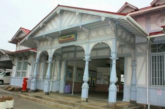 南海本線 浜寺公園駅 現在は高架工事中です