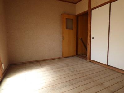 【寝室】西田中町貸家(1-5)