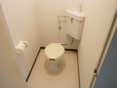 【トイレ】クイーンハイツ