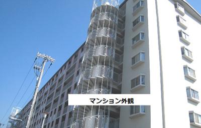 【外観】明石ハウス3号棟