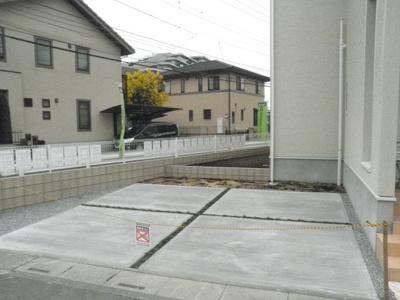 【駐車場】白岡市 新白岡 新築戸建住宅 (全2棟) 1号棟