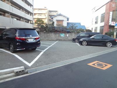 【外観】石橋西岡駐車場(読売新聞前)