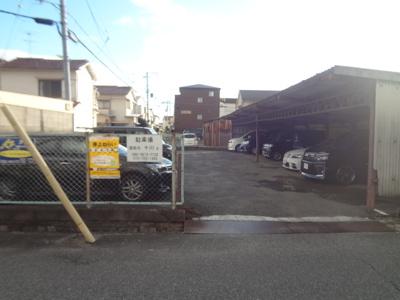 【外観】十川東側駐車場