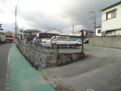 【外観】十川北駐車場