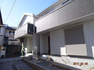 【外観】さいたま市浦和区木崎4丁目 新築分譲住宅全2棟