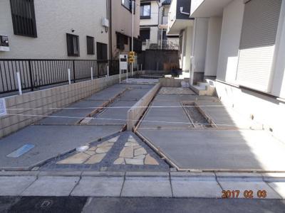 【駐車場】さいたま市浦和区木崎4丁目 新築分譲住宅全2棟