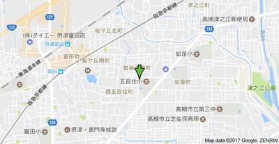 【地図】ファミール登美の里 (株)Roots