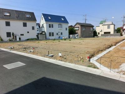 【前面道路含む現地写真】拾六間分譲地