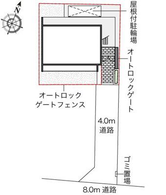 【地図】大森南
