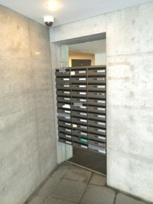 カスタリア恵比寿のメールボックスです。