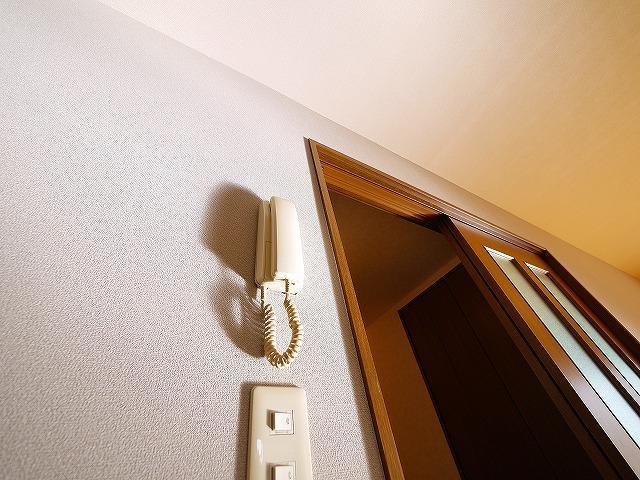 インターホンが付いているお部屋です。