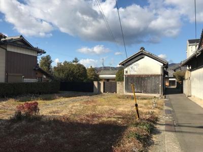 【区画図】【売地】岩出第二中学校区・56286