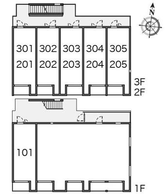 【地図】ミランダサニーハイツ   光