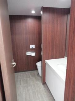 第2イノセビル 洗面・トイレ