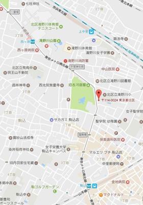 【地図】ガリシア駒込