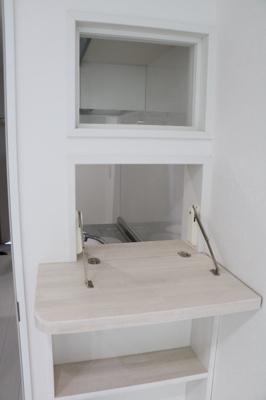 クラスタージュ西都賀のキッチンカウンター