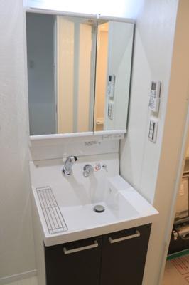 クラスタージュ西都賀の洗面台