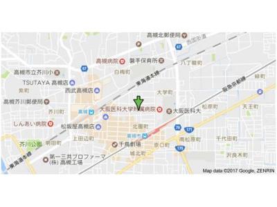 【地図】上田マンション (株)Roots