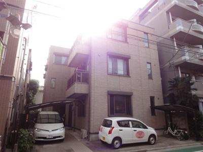 【外観】藤ハイツ駐車場(バイク置場)